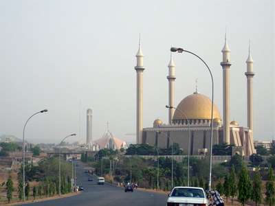 National Mosque and Church in Nigeria
