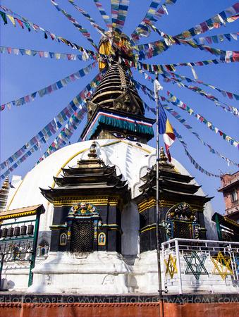Kathesimbhu Stupa in Kathmandu City