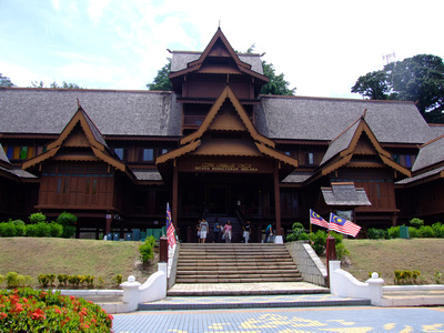 Sultanate Palace in Malacca, Malaysia