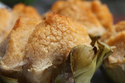 Bibingka cake from the Philippines