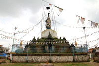 Chilancho Stupa in Kirtipur