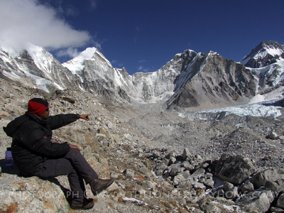 Trekking Guide at The Everest Base Camp Trek