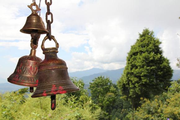 Mountain views from Nagarkot