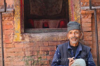 Meeting Nepali people in Nepal