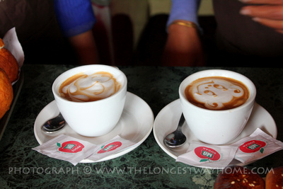 Two cups of coffee in Nepal