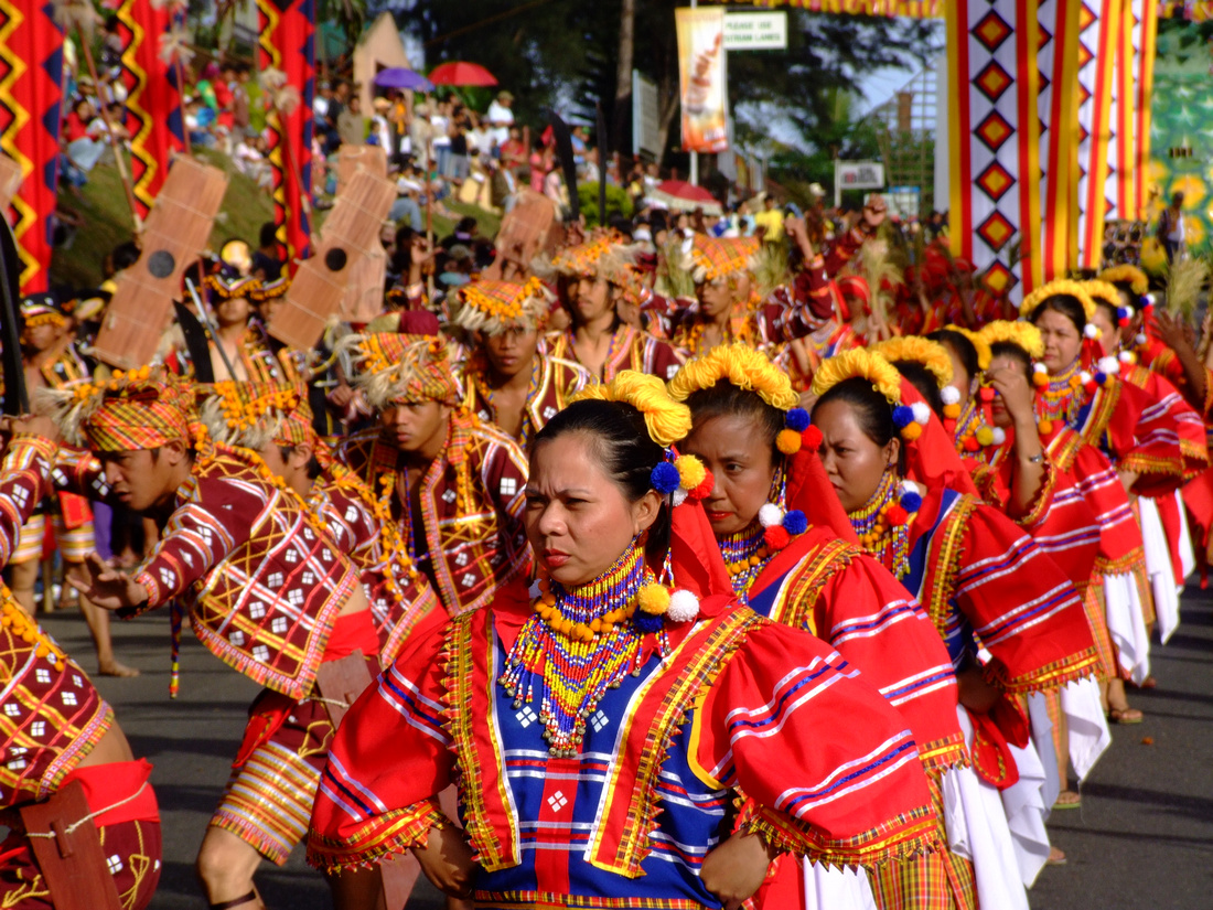 Kaamulan dancers in Bukidnon, the Philippines