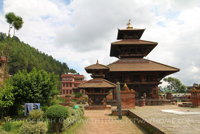 The Indreshwar temple in Panauti