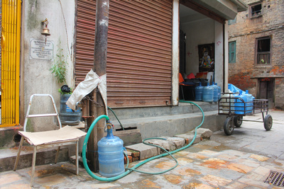 Nepalese water business