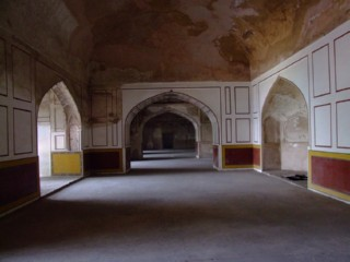 Corridors from the underground place, Lahore Fortress