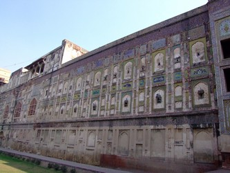 Lahore Fort Wall