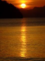 Sunset over El Nido Bay, Palawan