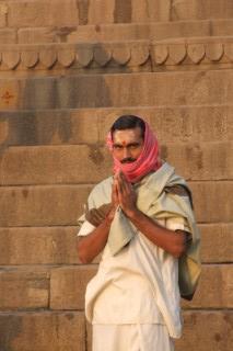 Morning Prayers on the Ganges