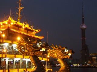 Dragon Boat in Shanghai