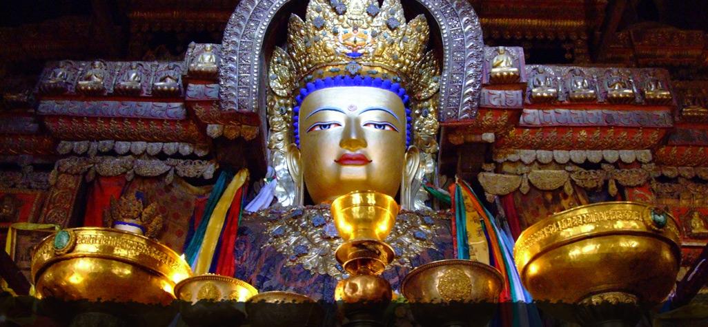 Statue of The Buddha in Tibet