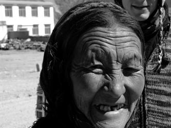 Tibetan Mountain Lady