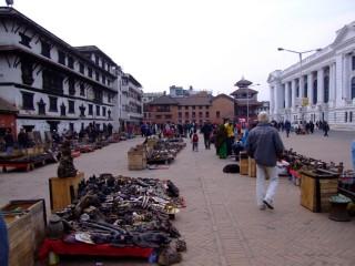 Durbar Square's markert, Kathmandu, Nepal