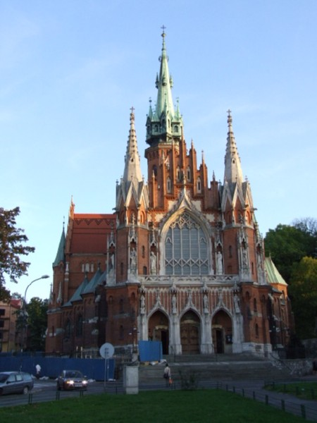 Church in Krakow (click to enlarge)