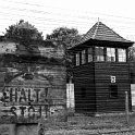 Sentry Post at Auschwitz Concentration Camp - Poland