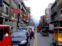 China Town road in Davao city