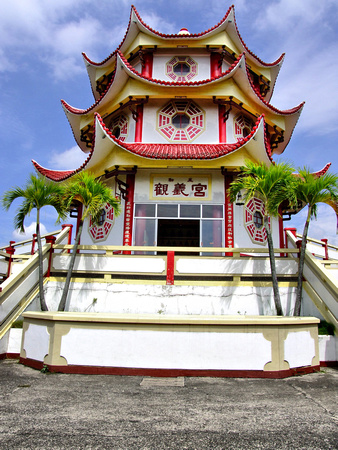The Tibetan Temple Inc in Davao City, The Philippines