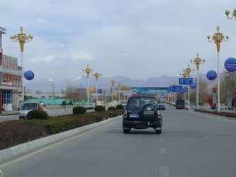 Road into Lhasa