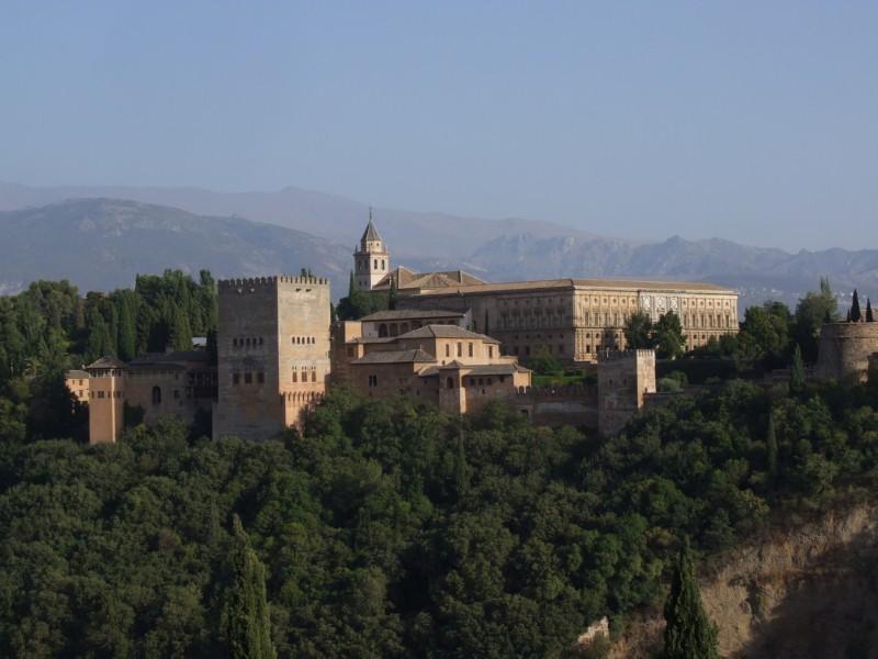The Alhambra in Granda, Spain