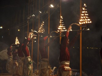 Nightly Celebrations on the Ganges