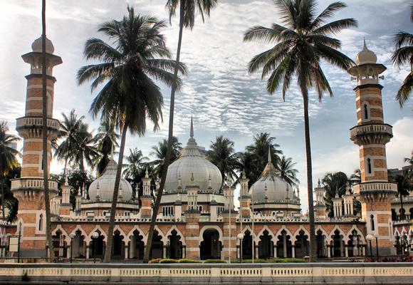 Mosque de Jame in Kuala Lumpur