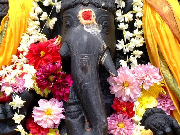 Ganesha statue in Penang
