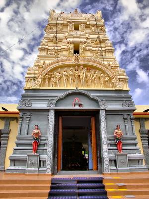 Hindu temple in Penang