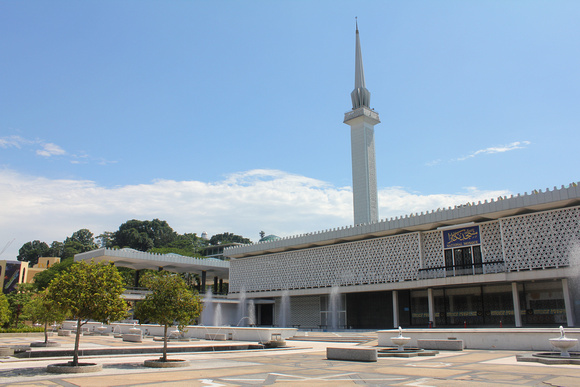 The National Mosque of Malaysia