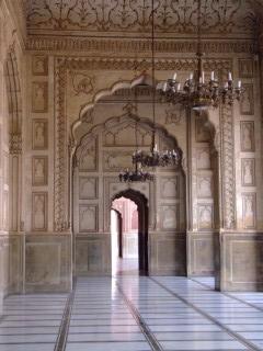 The exquisite detal of Badshahi Mosque, Lahore Pakistan