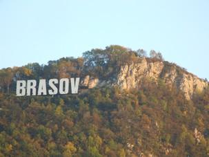 Brasov Hill Sign