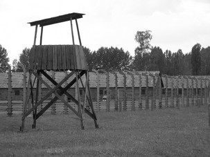 Poland BW Birkenau sentry post
