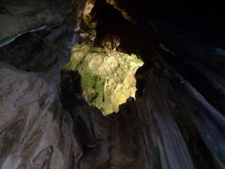 Roof of Cathedral Cave