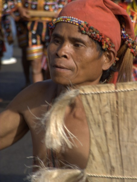 Indigenous tribesman from Kaamulan