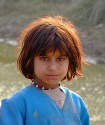 Afghan Girl Refugee, Pakistan