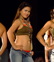 Hot Filipina model