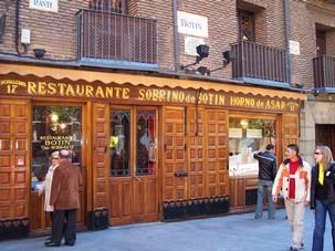 Oldest Restaurant, Madrid