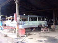 Filippino Jeepney construction