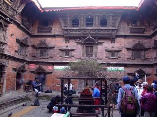 House of the living Goddess, Kathmandu, Nepal
