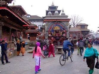 Read of Dubar Square Kathmandu Nepal