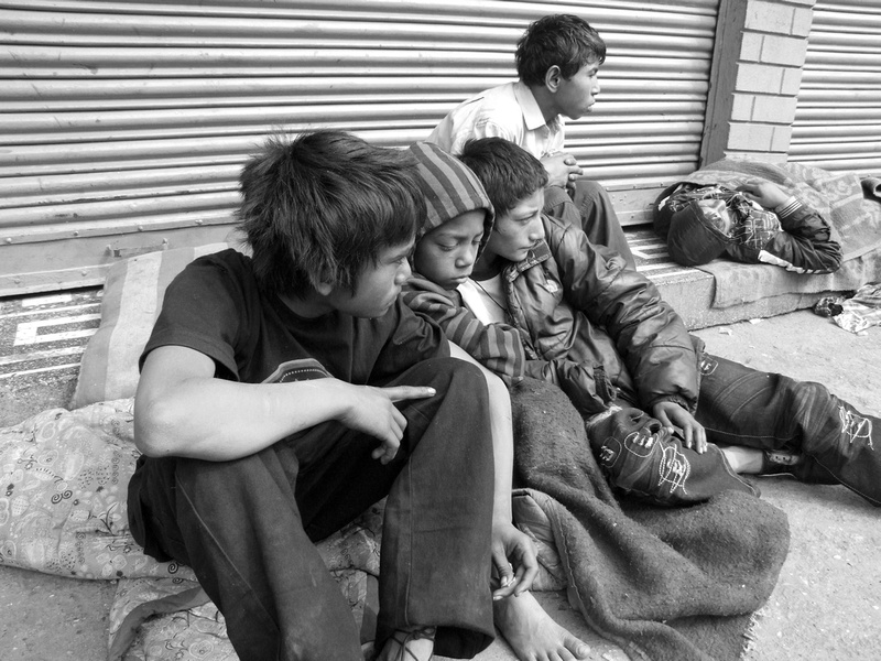 street children in kathmandu The children are frequently referred to as khate, a derogatory term referring to scrap plastic collectors there are estimated to be around 1500 street children in kathmandu, predominantly boys, and the problem seems to be getting worse.